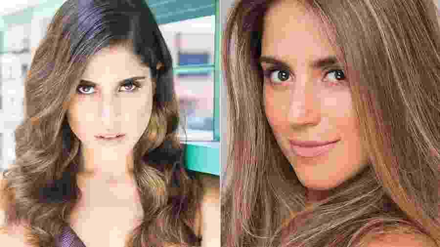 Antes e depois de Camila Camargo - Reprodução/Instagram