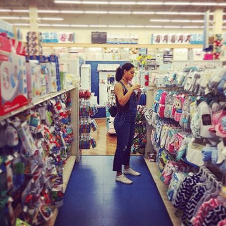 Débora Nascimento em foto tirada por José Loreto - Reprodução/Instagram/joseloreto