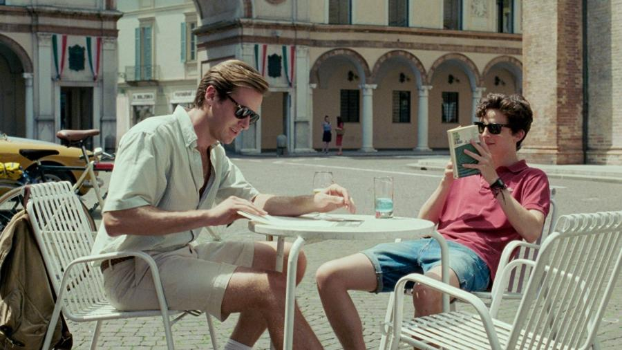 """Armie Hammer e Timothee Chalamet no filme """"Me Chame Pelo Seu Nome"""" - Divulgação"""