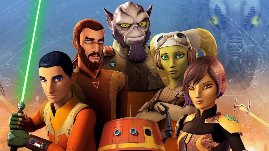 """Os personagens de """"Star Wars Rebels"""" - Reprodução"""
