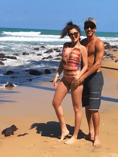 """Fernanda Batista, do """"Domingão"""", namora o craque Rodriguinho, do Corinthians, já há quase um ano - Reprodução/Instagram"""