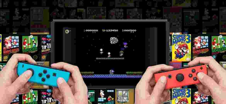 Nintendo Switch Online - Jogos de NES - Divulgação