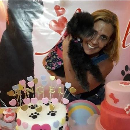 Rita no aniversário de 16 anos da cadelinha Angel - Reprodução / Instagram