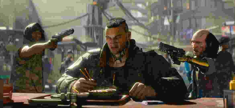 """""""Cyberpunk 2077"""" ainda não tem data de lançamento prevista - Divulgação/CD Projekt Red"""