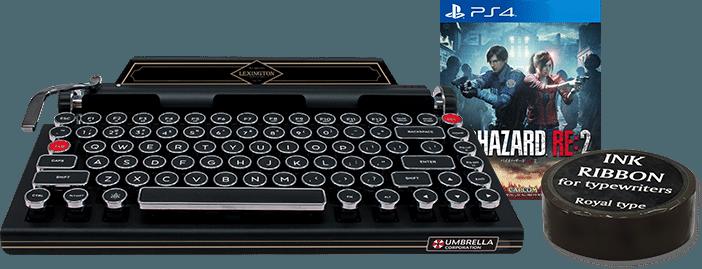 Teclado de Resident Evil 2