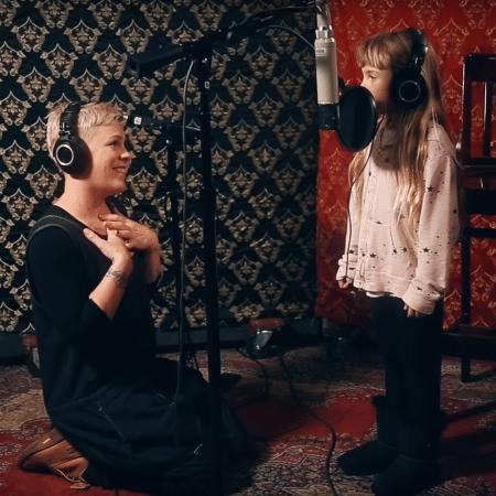 A cantora Pink e sua filha, Willow - Instagram/Reprodução