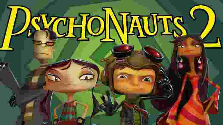 """""""Psychonauts 2"""" receberá novidades ainda esse ano. - Divulgação"""
