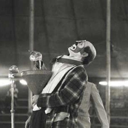 O artista circense Roger Avanzi, conhecido como Palhaço Picolino - Divulgação