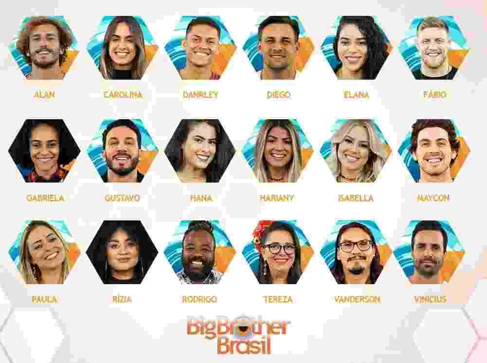 """Todos os participantes do """"BBB19"""" - Reprodução/Gshow"""