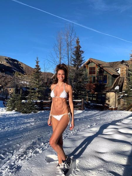 Luciana Gimenez curte o inverno (ou verão?) em Aspen (EUA) - Reprodução/Instagram/lucianagimenez