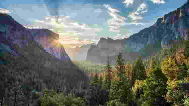 O Parque Nacional Yosemite é um dos mais lindos destinos de ecoturismo dos EUA - agaliza/Getty Images/iStockphoto - agaliza/Getty Images/iStockphoto