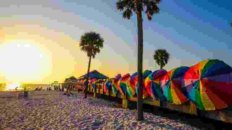 Clearwater Beach, Flórida, Estados Unidos - sreenath_k/Getty Images/iStockphoto - sreenath_k/Getty Images/iStockphoto