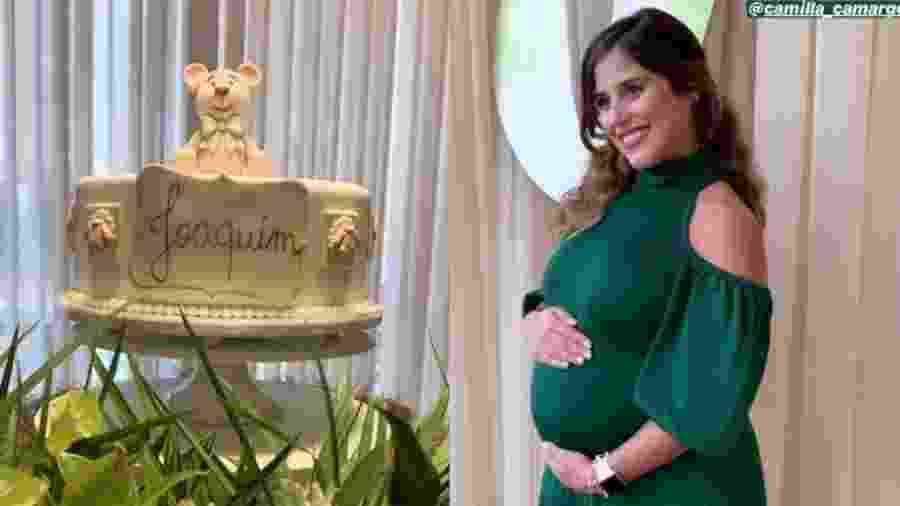 Camilla Camargo faz chá de bebê para seu primeiro filho - Reprodução/Instagram