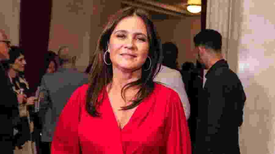 Adriana Esteves no tapete vermelho do Grande Prêmio do Cinema Brasileiro 2019 - Thiago Duran/AgNews
