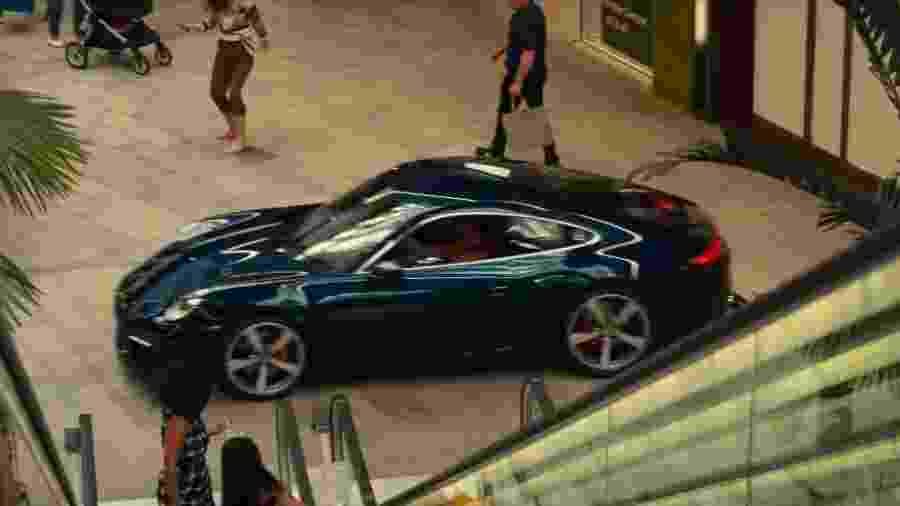 Perseguição com Porsche 911 em Bad Boys 3 - Reprodução