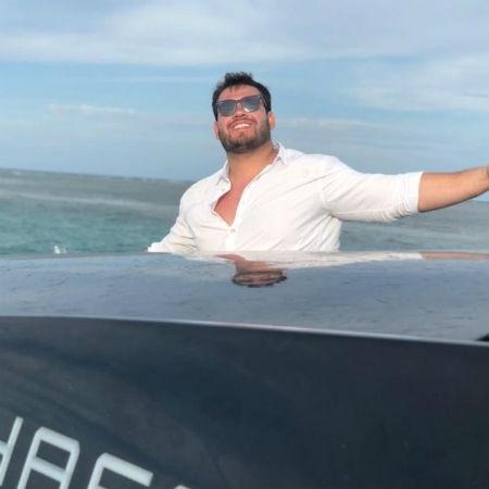 Renan Vitorio, o empresário que deu um selinho em Maraísa - Arquivo pessoal