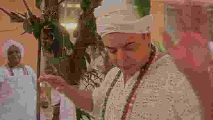 David Brazil também participa do clipe do samba-enredo da Grande Rio para o Carnaval 2020 - Reprodução/YouTube - Reprodução/YouTube