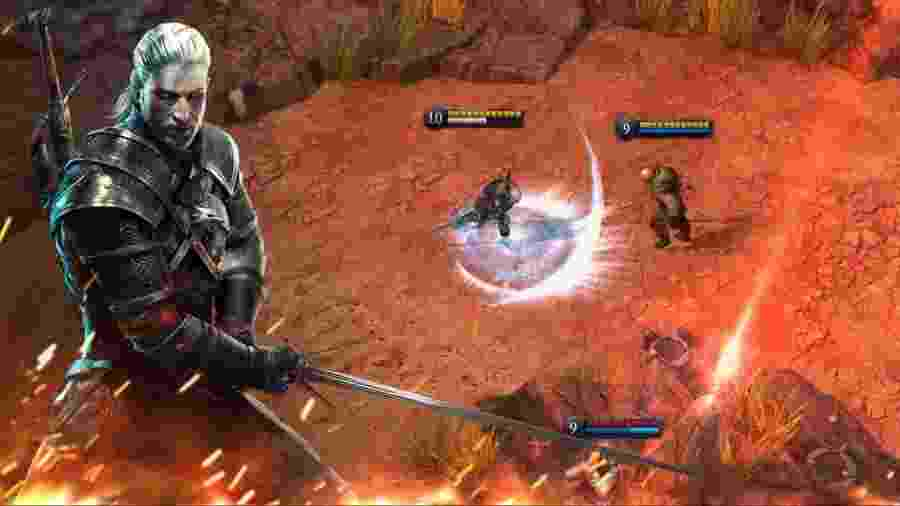 The Witcher Battle Arena é um MOBA - Reprodução
