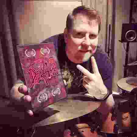 Sean Reinert, ex-baterista do Cynic e Death - Reprodução/Facebook