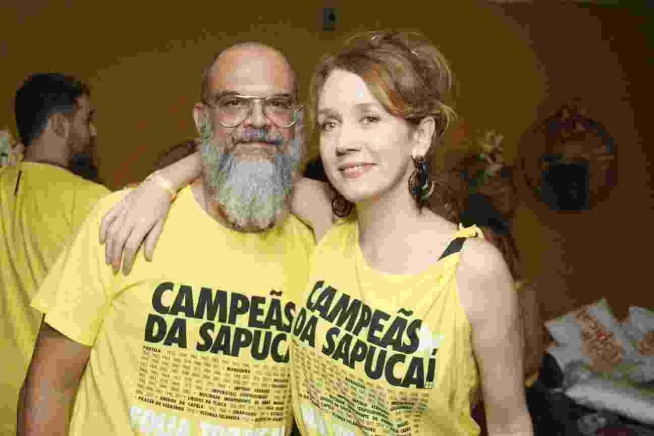 Camila Morgado e o namorado Marcello Maia - Wallace Barbosa/AgNews
