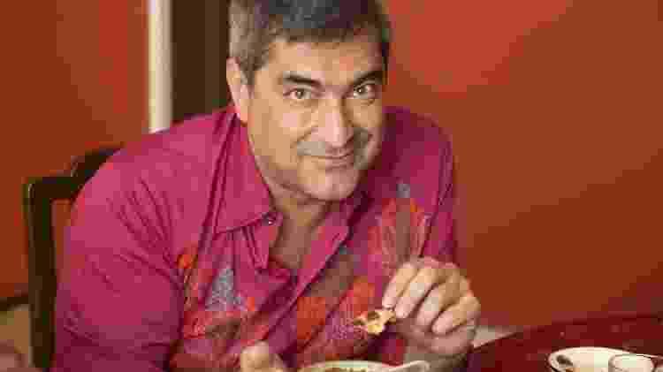 Zeca Carmargo, que lançou livro sobre culinária indiana - Divulgação - Divulgação