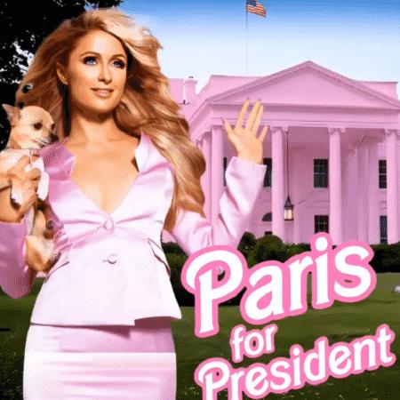 Paris Hilton diz que concorrerá a presidente - Reprodução/Instagram
