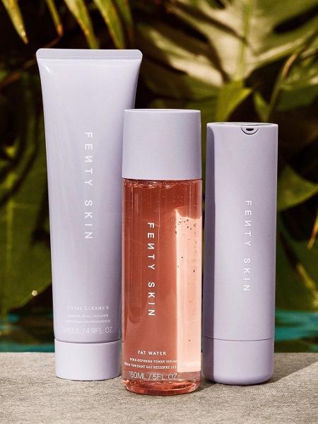 Trio de produtos da Fenty Beauty - Reprodução/Instagram