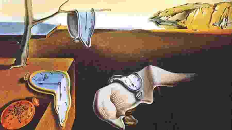 Persistência da Memória - Salvador Dalí