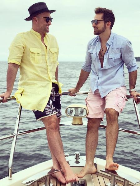 Paulo Gustavo e marido, Thales Breta - Reprodução/Instagram