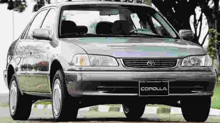 Toyota corolla 2001 - Divulgação - Divulgação