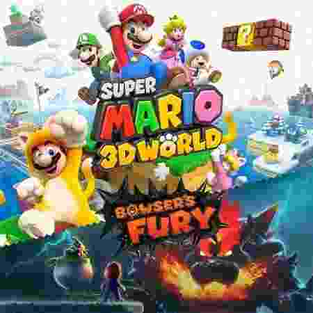 Super Mario 3D World Bowser's Fury caPA - Reprodução - Reprodução