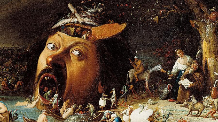 """The Temptation of Saint Anthony"", de Joos van Craesbeeck - Reprodução"