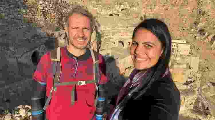 Casal brasileiro visita o Iraque - Arquivo pessoal - Arquivo pessoal