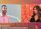 Crachá da Globo, livro, patrocínio: Gil tem semana de campeão do BBB (Foto: Reprodução / TV Globo)