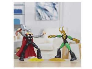 Marvel Avengers Bend and Flex Vingadores - Thor vs Loki - F0245 - Hasbro - Divulgação - Divulgação