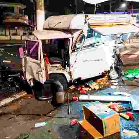 O food truck Dog Loko do Meu Querido teve perda total após acidente - Divulgação - Divulgação