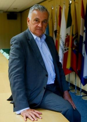O ministro Juca Ferreira, durante evento da Secretaria Ibero-Americana, em Madri - Juanjo Martin/EFE