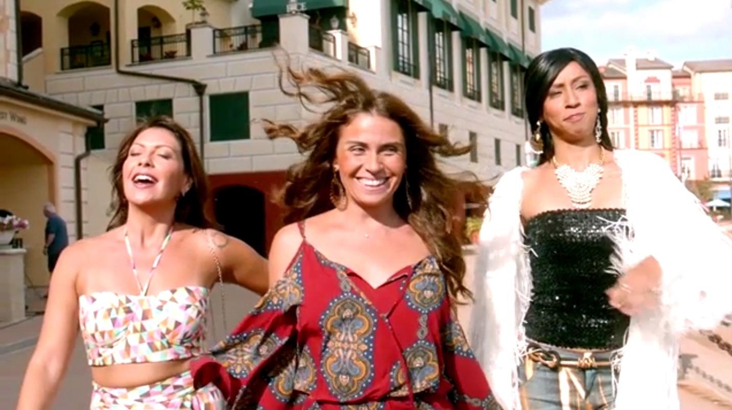 Fabiula Nascimento, Giovanna Antonelli e Thalita Carauta, em cena de