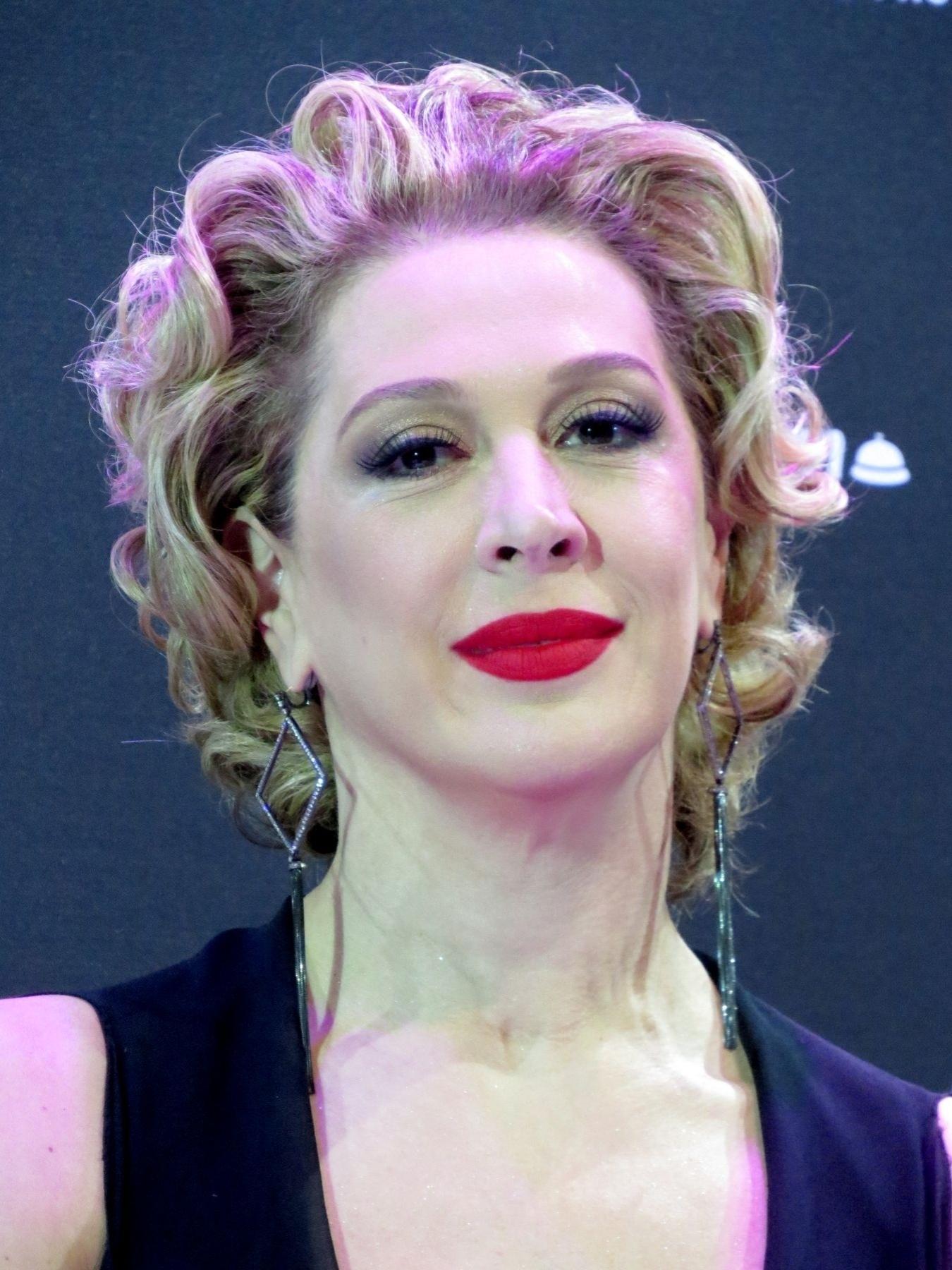 21.jul.2015 - Claudia Raia recebeu a imprensa no Theatro Net, no shopping Vila Olímpia, em São Paulo para apresentar seu novo musical