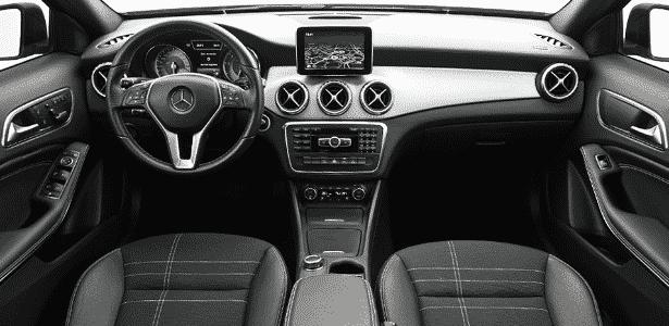 Mercedes-Benz GLA 200 Vision interior - Murilo Góes/UOL - Murilo Góes/UOL