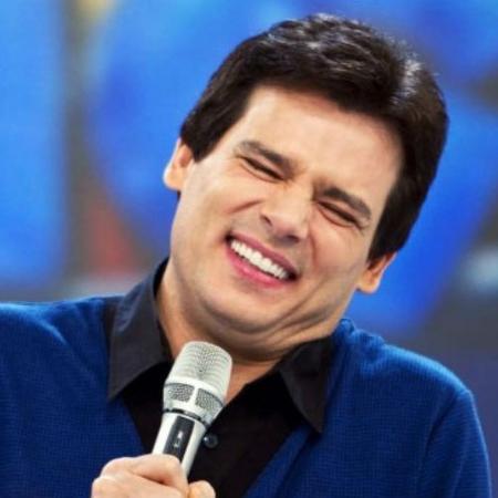"""Celso Portiolli no palco do """"Domingo Legal"""" - Reprodução"""