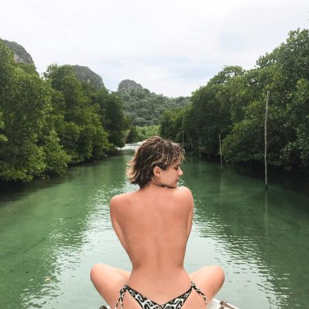 Isabella Santoni curte dias de descanso na Tailândia - Reprodução/Instagram/bellasantoni
