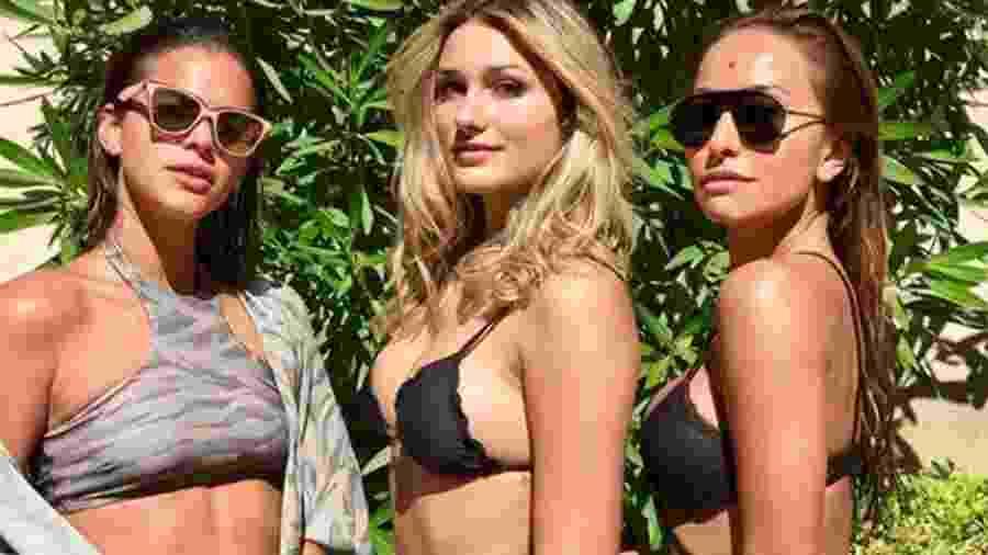 Bruna Marquezine, Sasha e Sabrina estão em Saint-Tropez  - Reprodução/Instagram