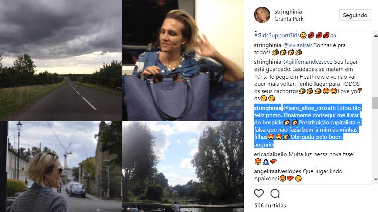 Reprodução/Instagram/stringhinia