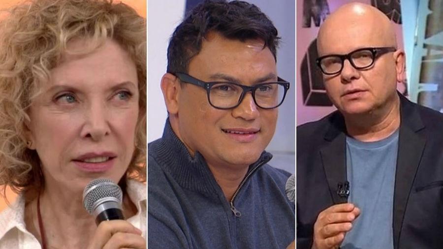 Marília Gabriela, Popó e Marcelo Tas: Eles são famosos e apoiam a orientação sexual dos filhos - Reprodução/Fotomontagem/UOL