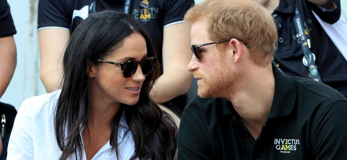 Príncipe Harry e Meghan Markle nos Invictus Games  - Getty Images