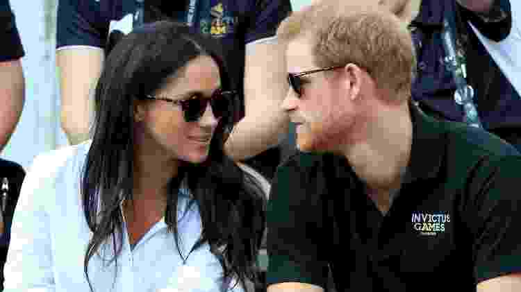 Príncipe Harry e Meghan Markle nos Invictus Games  - Getty Images - Getty Images