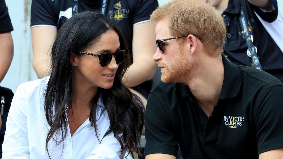 Príncipe Harry e Meghan Markle nos Invictus Games  - Getty Images