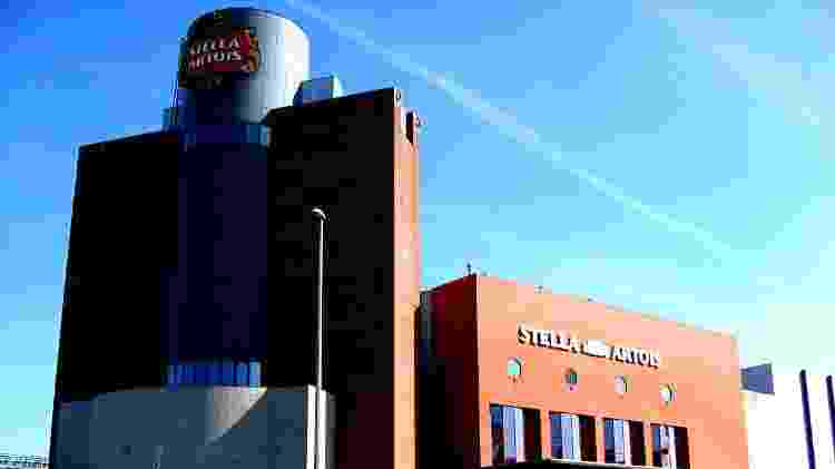 Fábrica da Stella Artois em Leuven, na Bélgica - Divulgação/Stella Artois - Divulgação/Stella Artois