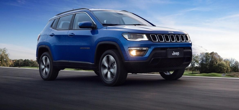 Jeep Compass foi o SUV mais vendido de 2017, superando até mesmo o Honda HR-V, que é menor e mais barato - Divulgação